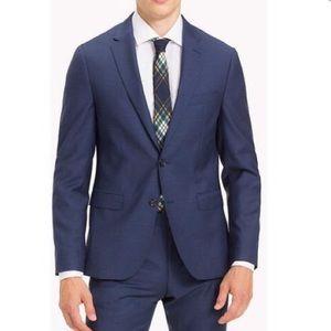 Tommy Hilfiger tailored blue wool blazer 38S